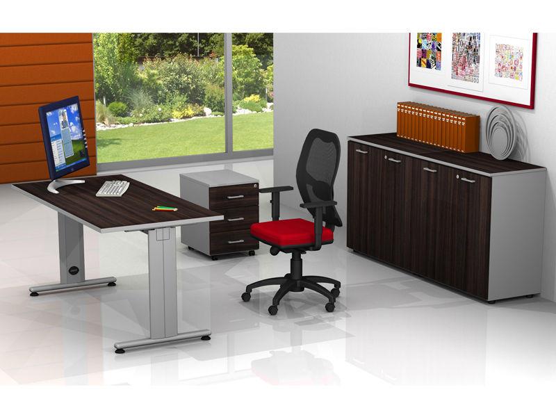 Arredo ufficio completo operativo metallica mobili per for Arredo ufficio completo