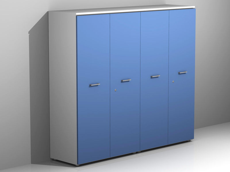 Ufficio Mobile Legno : Mobile ufficio ante legno l p h az sconti